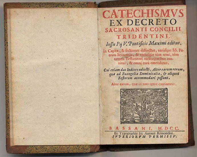 Catecismo do Concilio de Trento - 1566