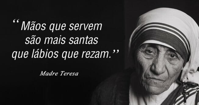 Frase de Madre Teresa de Calcutá