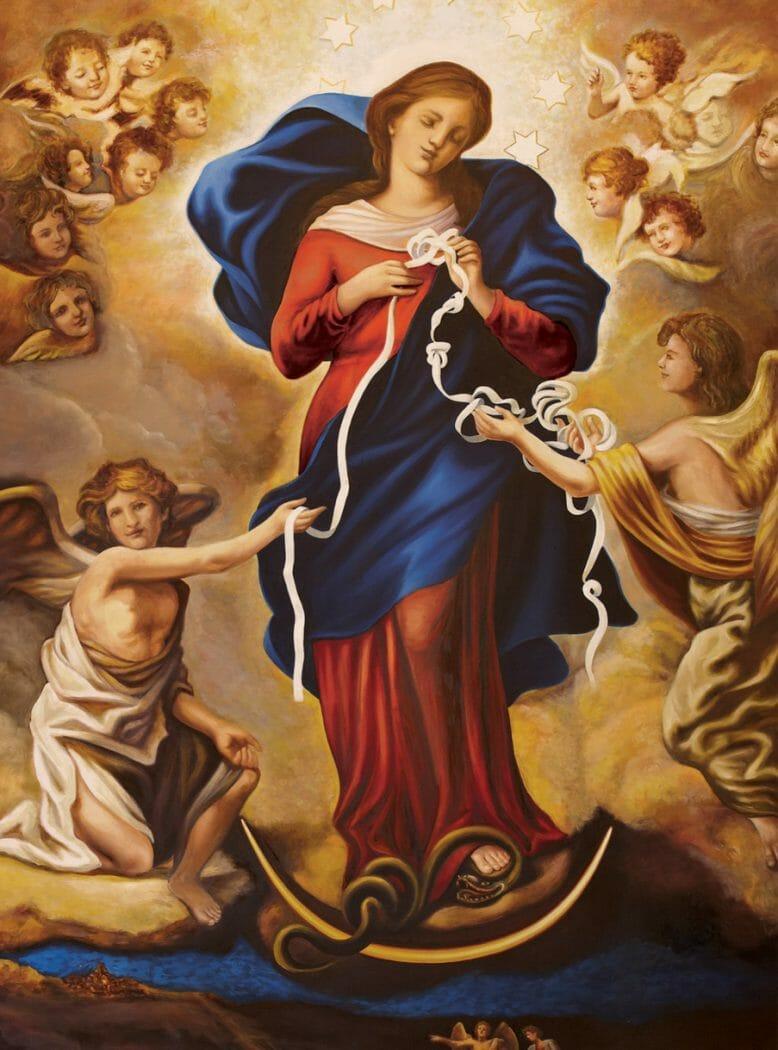 Resultado de imagem para Nossa Senhora desatadora de nós