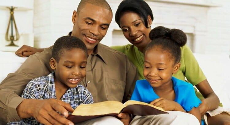 Oração família ensinamento