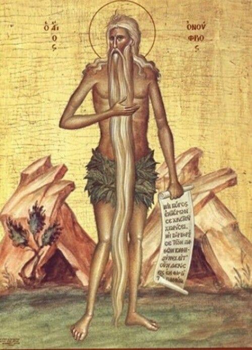 Oração a Santo Onofre