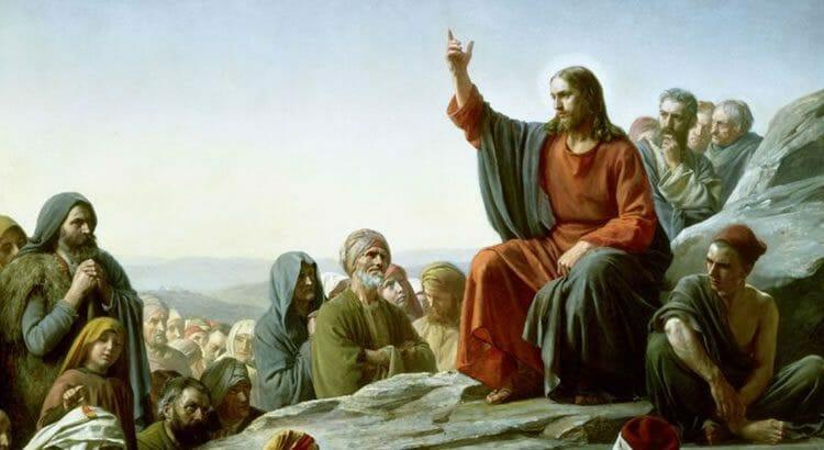 Resultado de imagem para jesus ensinando pai nosso