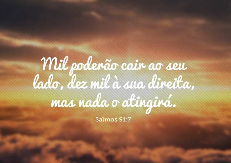 Salmo Com o Por do Sol